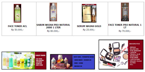 sukses berbisnis kosmetik online